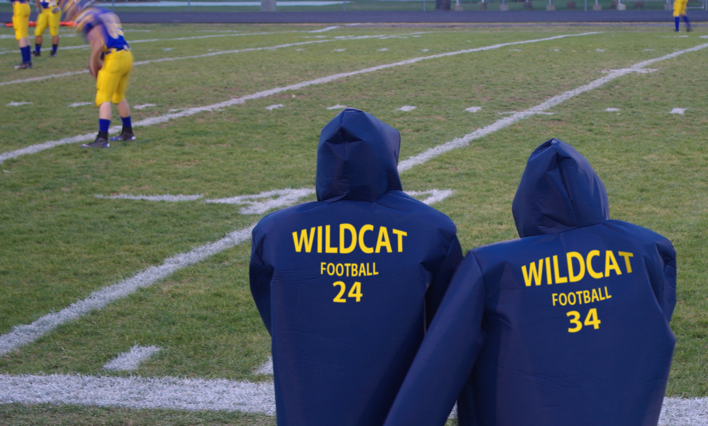 size 40 750df d58b4 Wildcat Football Coats 2 - Hadar Athletic